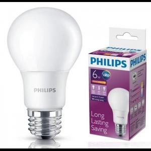 Philips LEDBulb 6.5-60W E27 3000K